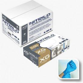 HOSPITALAR - GD25 -G - Luvas de Nitrilo sem pó FLASH EXTREME com substancia revestida TAM G (50 uni) SANTEX