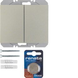 85656273 - K.1/K.5 - BP duplo KNX RF, aço inox BERKER EAN:4011334370772