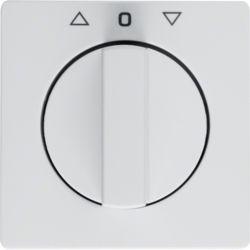 BERKER - 1080608900 - Q.x - botão rotativ. estor., branco 23