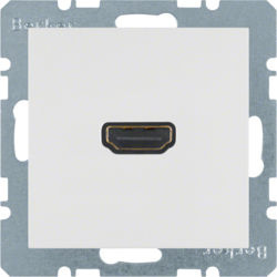 BERKER - 3315421909 - S.1/B.x - tomada HDMI, branco mate 23