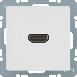 BERKER - 3315426089 - Q.x - tomada HDMI, branco 23