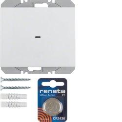 BERKER - 85655279 - K.1/K.5 - BP simples KNX RF, branco 25