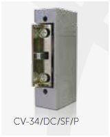 CV-34/DC/SF/P Trinco eléctrico Fecho ajustável, Cx reduzida sem escudo 12V DC GOLMAR