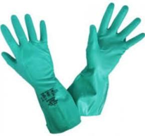 Equipamentos de Protecção - 5827 - Luva Nitrilo Verde s/Suporte 7