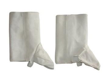 Equipamentos de Protecção - 7046 - Polainitos crute cinza 34 cm