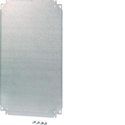 FL407A - Platina metálica a.500 l.300 HAGER EAN:3250610671429