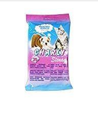 Higiene Pessoal, Detergentes e Ambientadores - 4095 - Charly Toalhitas p/Animais 20 Un. K.M.S