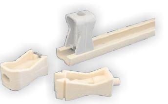 JSL - Abraçadeiras para calha (montagem em guia C11) 6-24 / 6-24mm