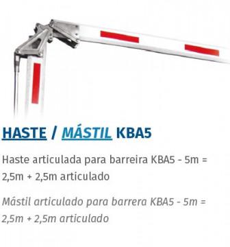 MOTORLINE HASTE KBA5 Acessórios para barreiras