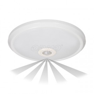 OR-PL-6076WLPMR4 ORNO - Downlight saliente LED 16W com detetor de movimento 360º