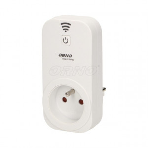 OR-SH-1701 ORNO - Tomada WIFI c/ internet SMART LIVING