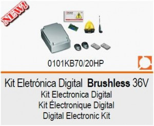 ROGER Kit Eletrónica Digital Brushless 24V KB70/20HP