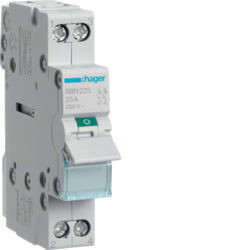 SBN225 - Interruptor Modular 2P 25A HAGER EAN:3250615510099