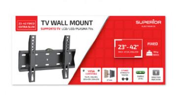 Suporte TV EXTRA SLIM 23-42 – Superior
