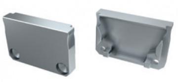 TP191 - Topo Plastico Silver P/Perfil SARAGOÇA - Quant. fornecida = 1 un