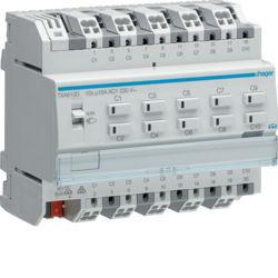 TXA610D - Actuador bin./est. 10 canais 16A Cap KNX HAGER EAN:3250616048805