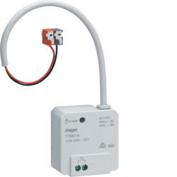 TYB601B - Actuador bin 1 canal 10A encast KNX-S HAGER EAN:3250616059382