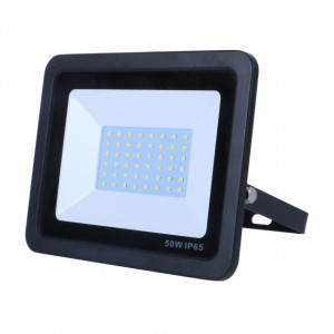 VG-50F120-NG - PROJETOR IP65 LED 50W, 110-220V (50/60HZ), 120º, 6000K, PT OMNIUM ELECTRIC