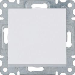 WL0010 - lumina 2 Interruptor simples, branco HAGER EAN:8694407000156