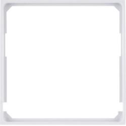 WL5310 - lumina 2 Aro intermédio 50x50, branco HAGER EAN:8694407001245