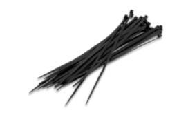 000900093 - Pacote de 100 unidades de ABRAÇADEIRAS 160x2,5 mm preto 8436021940933