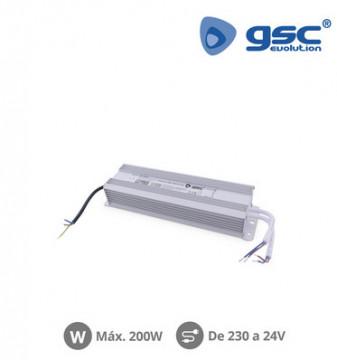 001504584 - Tiras de LED de fonte de alimentação 24V 200W IP67 8433373045842