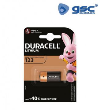 009000142 - Bateria de lítio Duracell Ultra M3 123 Blister 1 5000394123100
