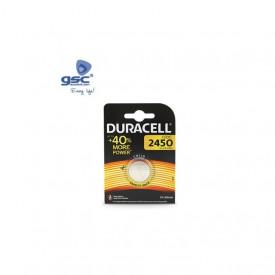 009000152 - 5000394030428 Pilha lítio Duracell DL2450 Blister 1