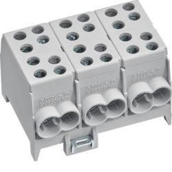 01 - KH35L3 - 3250613780302 Distrib. 100A fase 3x(2x(35+25))mm² 4,5M HAGER