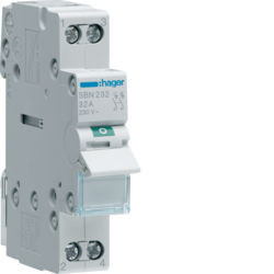 01 - SBN232 - 3250615510136 Interruptor Modular 2P 32A HAGER