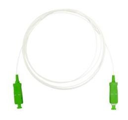 """232602 -8424450185902 TELEVES - Cabo de F.O. Monomodo LSFH Pré-conectorizado """"SC/APC"""" 2m (ITU-T G657A2, 900µm) Convertível a Pigtail"""