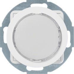 29522089 - R.x - Sinaliz. LED verde/enc, branco BERKER EAN:4011334414612