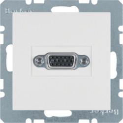 3315401909 - S.1/B.x - tomada VGA, branco mate BERKER EAN:4011334330264