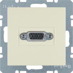 3315408982 - S.1/B.x - tomada VGA, creme BERKER EAN:4011334341659