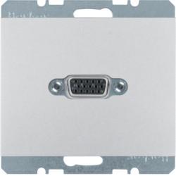 3315417003 - K.1/K.5 - tomada VGA paraf., alum lac BERKER EAN:4011334378358