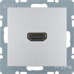 3315431404 - S.1/B.x - tomada HDMI ficha 90º, alum mt BERKER EAN:4011334330646