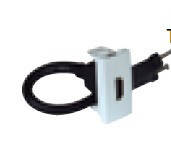 45435 SBM - TOMADA HDMI C/ CONETOR - 1 MÓD BRANCO MATE EFAPEL 5603011628055