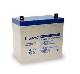 Bateria de Gel 12V 65Ah (34,8 x 16,7 x 17,8 mm) - Ultracell