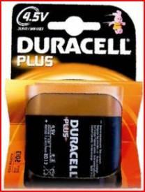 9000115 - 5000394019317 Conjunto de baterias DURACEL Plus 3R12-4.5V Blister 1ud