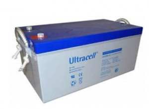 Bateria de Gel 12V 250Ah (520 x 268 x 220 mm) - Ultracell