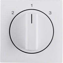 BERKER - 1084190900 - S.1/B.x - botão rotativo 2-1-3, branc mt 23