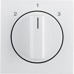 BERKER - 1084898900 - S.1/B.x - botão rotativo 2-1-3, branco 23