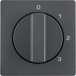 BERKER - 1096608600 - Q.x - botão rotativo 0-1-2-3, antrac 23