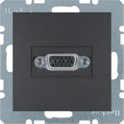 BERKER - 3315401606 - S.1/B.x - tomada VGA, antracite mate 23