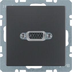 BERKER - 3315406086 - Q.x - tomada VGA, antracite 23
