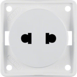 BERKER - 962572502 - Integro - tomada Euro-A, branco mate 23