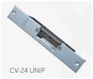CV-24 UNIP Trinco eléctrico Fecho ajustável, Cx reduzida INOX 12V AC/DC GOLMAR
