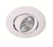 DOWNLIGHT Circular branco GU-10 7W