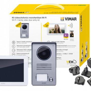 ELVOX Kit de videoporteiro monofamiliar com WIFI - K40945