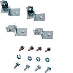 FL450A - Jogo 4 esquadros de fixação p/platina HAGER EAN:3250610671740